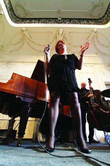 Concert au château de Lavérune en 2010