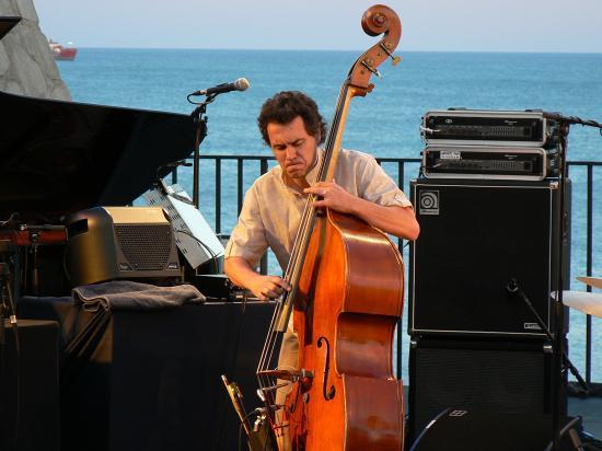 Alain Dumont en première partie de Dianne Reeves en 2008